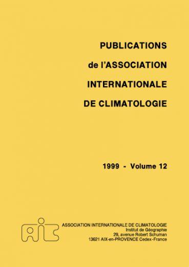 Publications de l'Association Internationale de Climatologie - Εκδόσεις Ζήτη
