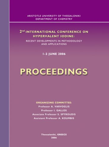 2nd International Conference on Hypervalent Iodine. Proceedings - Εκδόσεις Ζήτη