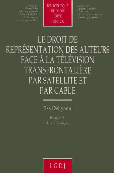Le droit de représentantion des auteurs - Εκδόσεις Ζήτη