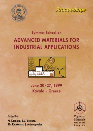 "Summer School on ""Advanced Materials for Industrial Applications"" - Εκδόσεις Ζήτη"