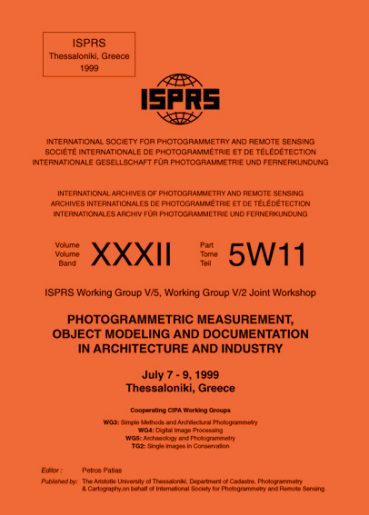 Photogrammetic measurement, object modeling & docum. in architecture & industry - Εκδόσεις Ζήτη